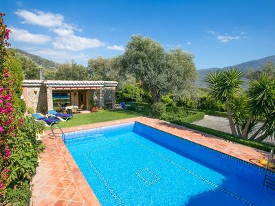 Photo for 2 bedroom Villa, sleeps 4 in Órgiva with Pool, Air Con and WiFi