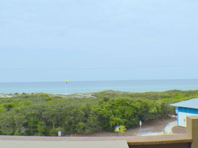 Photo for 3rd Floor Condo With Gulf Views! Easy Beach Access and Community Pool!