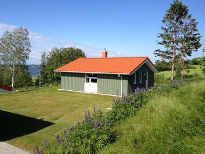 Photo for Cozy lodge on a hillside with Schleiblick | Sauna | Fireplace | Free Wi-Fi