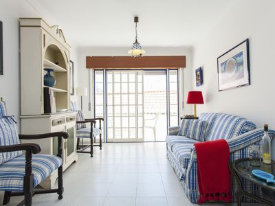 Photo for Beach Cosy apartment in Ericeira with WiFi & balcony.