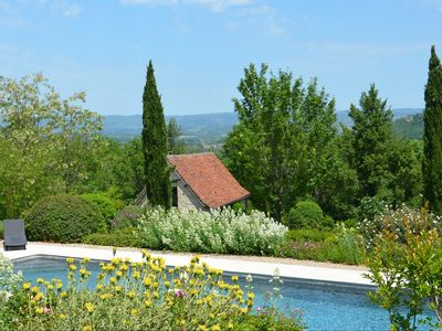 Photo for Rigaudou charming cottage for 2, Dordogne valley, heated pool