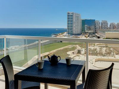 Photo for Modern Sea-View Apartment in a Prime Location