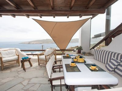 Photo for Sea Breeze Balcony of Mykonos
