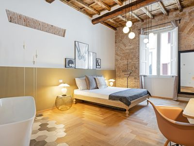 Photo for Luxurious 3bed 3bath flat - heart of Trastevere