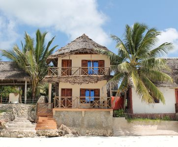Photo for MAJI VILLA (Ground Floor), on the beautiful Jambiani beach