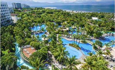 Photo for Golf and Spa Oceanfront Resort Grand Luxxe at Nuevo Vallarta 2bd Suite