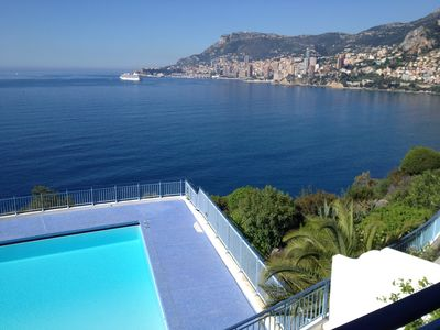 Photo for 2BR Apartment Vacation Rental in Roquebrune-Cap-Martin, Provence-Alpes-Côte-D'Azur