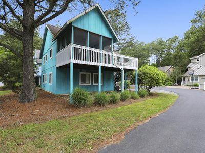 Photo for FREE ACTIVITIES!!! Bright and open beach home located in a quiet area on a cul-de-sac great for bike riding!