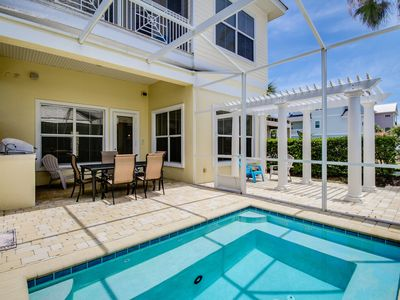 Photo for Dog-friendly home with ocean view, private pool, shared hot tub - close to beach