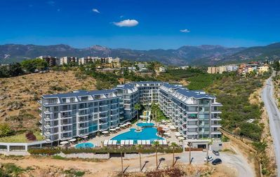 Photo for Residence with stunning sea view in Kestel\Alanya.