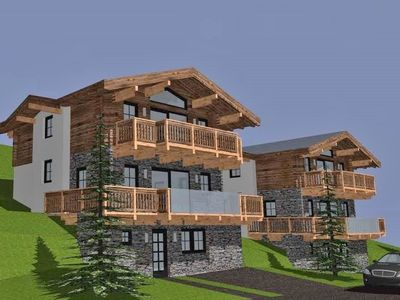 Photo for Beautiful luxurious chalet with private sauna, near the lift and slopes.