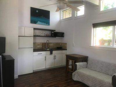 Photo for Furnished Sunset Studio Minute Walk to the  Sandy Sunset Beach