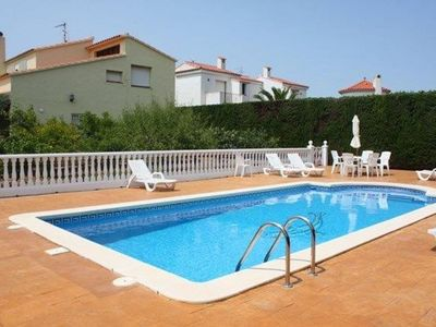 Photo for Wonderful private villa for 10 guests with A/C, WIFI, private pool, TV and parking