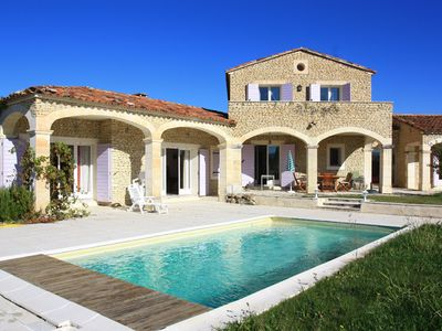 Photo for seasonal rental Gordes (Luberon) with all amenities.