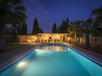 Photo for Lovely  villa with pool 5 bedrooms near Cala Jondal beach area