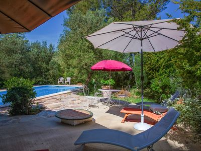Photo for Duchy of Uzès Villa Celina with park private swimming pool air conditioning free wifi