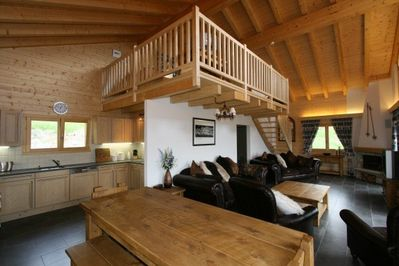Chalet Forget Me Not- living area
