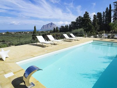 Photo for 3 bedroom Villa, sleeps 5 in Paparella with Pool, Air Con and WiFi