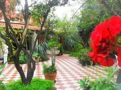 Photo for Dependance in villa Etna-mare 2 km, garden, parking, between Catania and Taormina