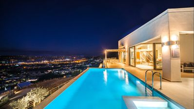 Photo for Luxury 4bd villa with private pool and amazing sea view