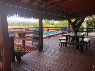 "Photo for The only ""beach"" bar, bungalow, & tiki trailer rental property in Fallbrook!"