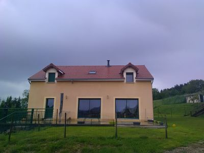 Photo for Large new house, 163 m2, land, garden ideal for ballads