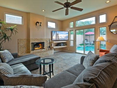 Photo for 4BR House with Pool/Jacuzzi, Minutes from Coachella/StageCoach/IndianWells