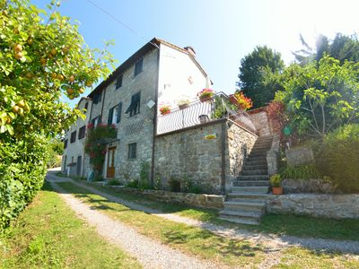 Photo for 3BR Farmhouse Vacation Rental in Corsagna, Tuscany
