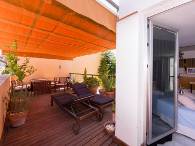 Photo for Duplex with exclusive terrace in the old town of Seville