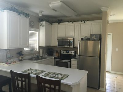 Are you hungry?  Fully Equipped Kitchen with New Stainless Appliances