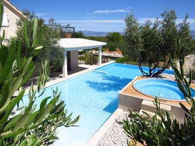 Photo for VILLA  SEA  ORCHARD ,kids playground,AVAILABLE DATES 06-20.07   and  10.08-17.08
