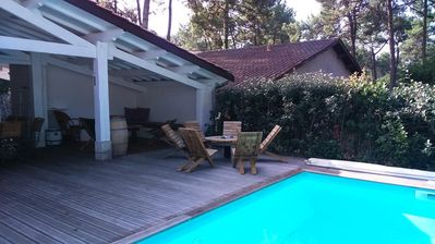 Photo for LACANAU OCEAN - House with private pool