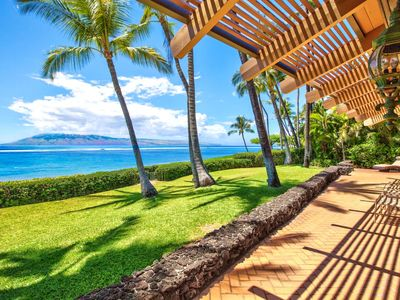 Photo for K B M Hawaii: Air Conditioned & Beach Front 5 Bedroom, FREE car! Jun & Jul Specials From only $1,429!