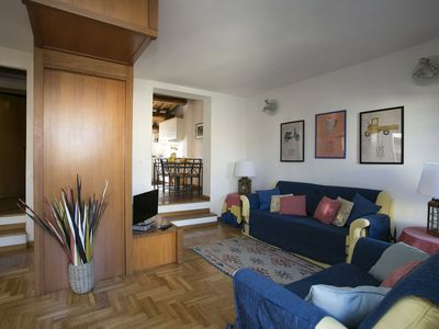 Photo for Apartment Tito in Rome center, with terraces, 3 bedrooms, 6 sleeps.