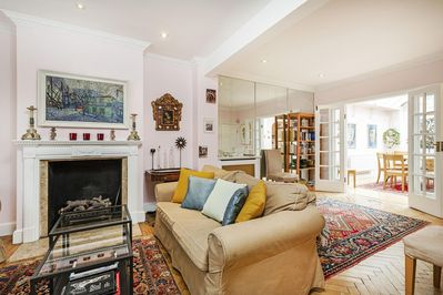 Quintessential And Convenient London Row House Overflowing With