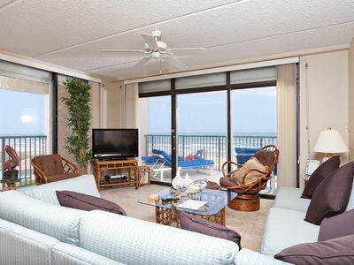 Photo for 3 bedroom 3 bathroom beachfront condo - 501