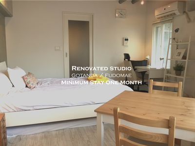 Photo for Renovated Cozy Studio in Gotanda/Fudomae