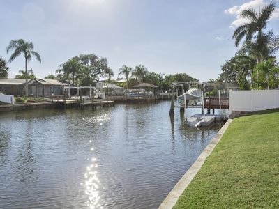 Photo for Wow!!  Gorgeous WATERFRONT **BOAT AVAILABLE** (Fish Kayak Manatees and Dolphins)