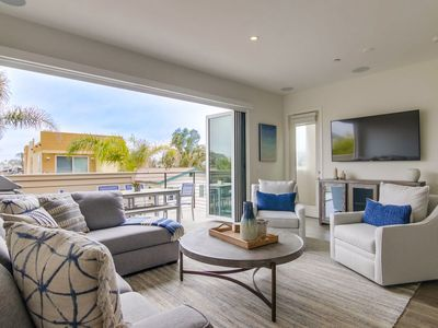 Photo for Relax in Luxury • A/C • Roof Deck • Ground Floor Patio • 2 Master Bedrooms