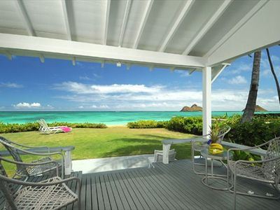 Photo for Now with A/C AND the best access to sandy Lanikai Beach!