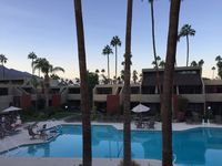 The condo has a wonderful Palm Springs vibe!