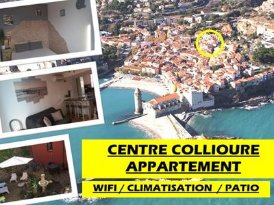 Photo for APARTMENT OF STANDING COLLIOURE CENTER WIFI / CLIM AND PATIO