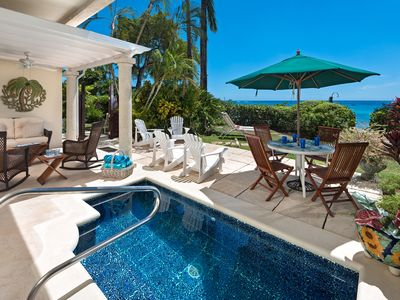 Photo for Beachfront Townhouse with Plunge Pool - Fathom's End