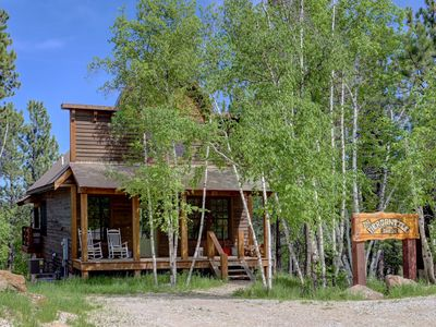 Photo for Mercantile Cabin - Newer Cabin With Shared Swimming Pool And Game Room!