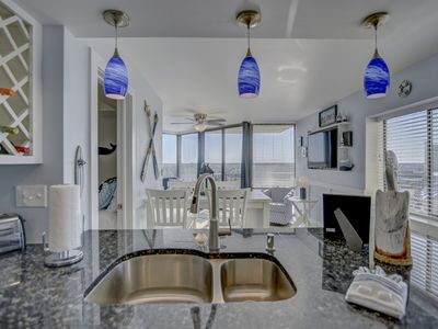 Photo for 2 BED/ 1 BATH PENTHOUSE, AMAZING VIEWS, WIFI  & BEACH CHAIRS!