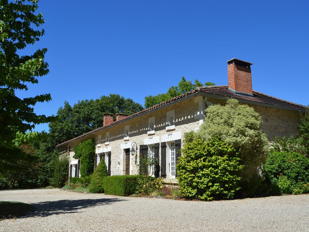La Maison De Rose Brossac traditional stone country house & private pool in secluded