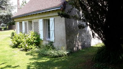Photo for Charming little house in the country of Ronsard in a large garden with swimming pool