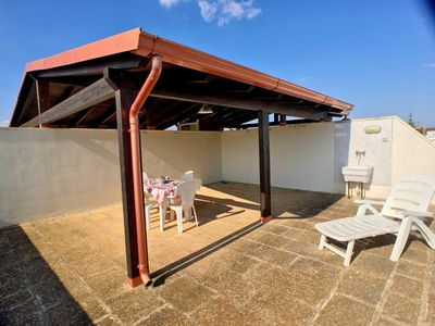 Photo for Comfortable apartment located in Torre San Giovanni, a top town in the Salento