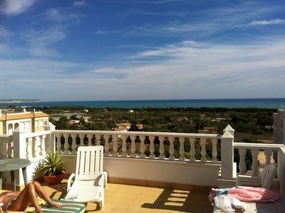 Photo for PENTHOUSE APARTMENT IN LA MARINA VILLAGE + LARGE SUNROOF,  FABULOUS  SEA VIEWS
