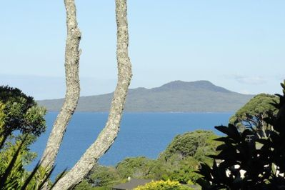 Zoomed in View of Rangitoto
